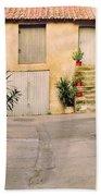 Alley In Arles France Bath Towel