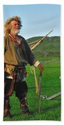Along The Viking Trail Bath Towel