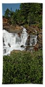 Alpine Falls Lake Tahoe II Bath Towel
