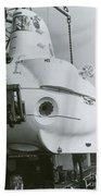 Alvin, Deep Sea Ocean Research Vessel Bath Towel