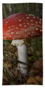 Amanita Muscaria Bath Towel