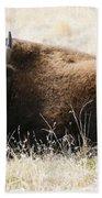 American Bison 2 Bath Towel