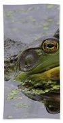 American Bullfrog Bath Towel