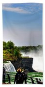 American Falls Bath Towel