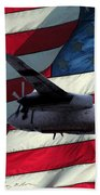 American Hero 2 Bath Towel