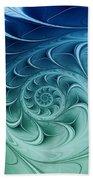 Ammonite Bath Towel