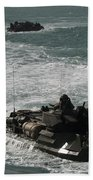 Amphibious Assault Vehicles Transit Bath Towel