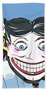 Amused Joker Bath Towel
