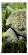 An Alpaca In Vail Bath Towel