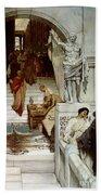 An Audience At Agrippa's Bath Towel