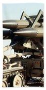 An Mim-23b Hawk Surface-to-air Missile Bath Towel