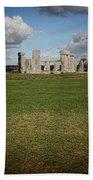 Ancient Stones Bath Towel