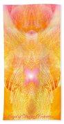 Angel Of Divine Protection Bath Towel