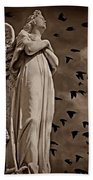 Angel Of Stone S Bath Towel