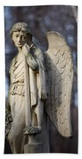 Angel Statue Hand Towel
