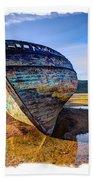 Anglesey Shipwreck Bath Towel