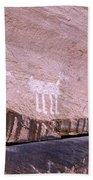 Antelope House Petroglyphs Bath Towel