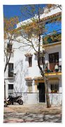 Apartment Houses In Marbella Hand Towel