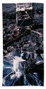 Apollo 14 Lunar Experiments Bath Towel