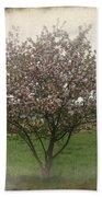 Apple Blossoms Bath Towel