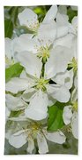 Apple Blossoms On The Trail Bath Towel