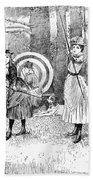 Archery, 1886 Bath Towel