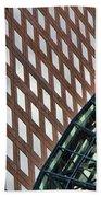 Architecture Building Patterns Bath Towel