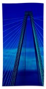Arthur Ravenel Jr Bridge IIi Bath Towel