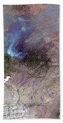 Aspen Fire, Arizona Bath Towel