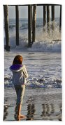At The Pier Bath Towel