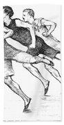 Athletics: Track, 1890 Bath Towel