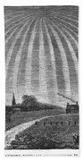 Aurora Borealis, 1837 Bath Towel
