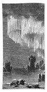 Aurora Borealis, 1868 Bath Towel