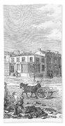 Australia: Melbourne, 1853 Bath Towel