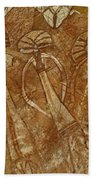 Indigenous Aboriginal Art 2 Bath Towel