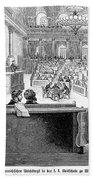 Austrian Assembly, 1848 Bath Towel
