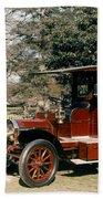 Auto: French Taxi, 1908 Bath Towel
