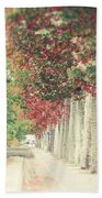 Autumn And Fall Bath Towel