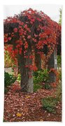 Autumn Arbor In Grants Pass Park Bath Towel