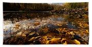 Autumn At Ragged Falls Hand Towel