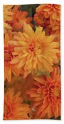 Autumn Garden Impressions Bath Towel