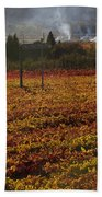 Autumn In Napa Valley Bath Towel