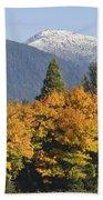 Autumn In The Illinois Valley Bath Towel