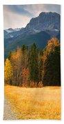 Autumn In The Rockies Bath Towel