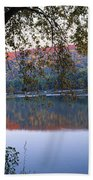Autumn Lake Bath Towel