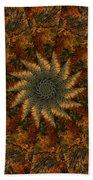 Autumn Mandala 7 Bath Towel
