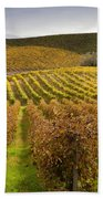 Autumn Vines Bath Towel