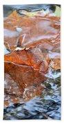 Autumn Waters Bath Towel