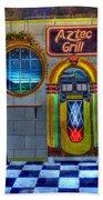 Aztec Grill Route 66 Bath Towel