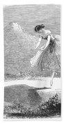 Ballet: Ondine, 1843 Bath Towel